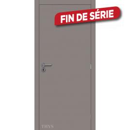 Bloc-porte fini Laminado S63 gris mat 63 x 201,5 cm THYS