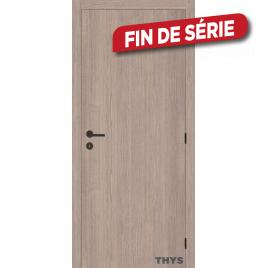 Bloc-porte fini Laminado S63 chêne gris vertical 63 x 201,5 cm THYS