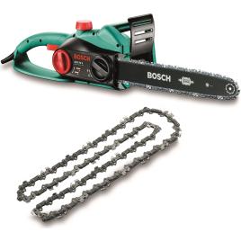 Tronçonneuse électrique AKE 40 S 1800W 40 cm avec chaîne de rechange BOSCH