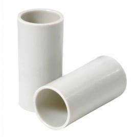 Manchon gris en PVC - 20 mm