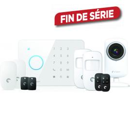 Kit alarme sans fil GSM + IP CAM ETIGER