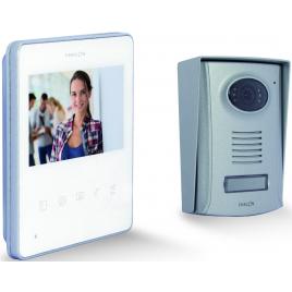 "Videophone 2 fils 4,3"" blanc Ultra Slim"