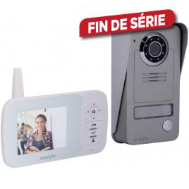 """Vidéophone sans fil digital 2.4GHz avec écran LCD 3.5"""""""