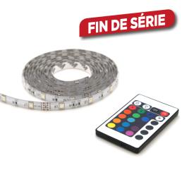 Ruban LED rgb avec télécommande IP44 PROLIGHT - 2 m