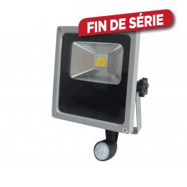 Projecteur LED IP65 compact 10w noir PROFILE