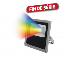 Projecteur LED RGB IP65 Gris PROFILE - 10 W