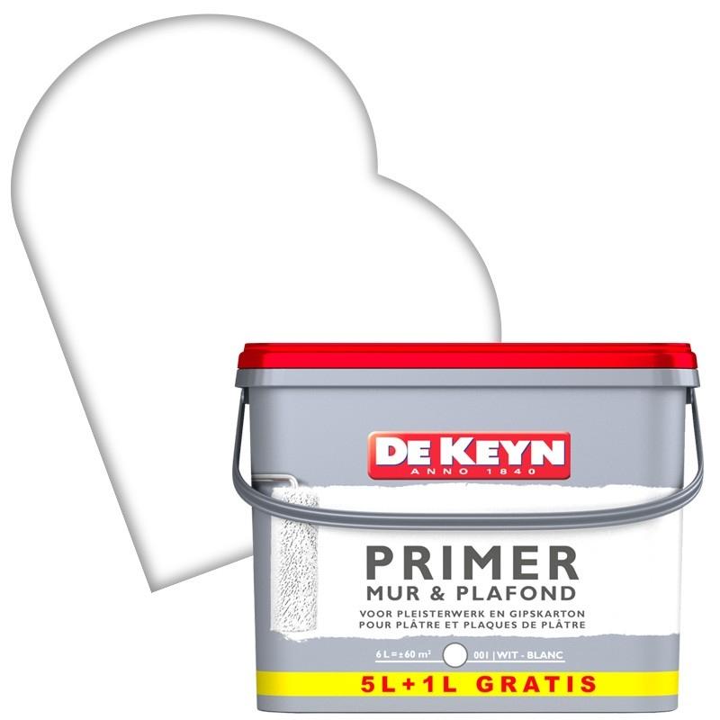 Peinture Sous Couche Primer Blanc Murs Et Plafonds De Keyn