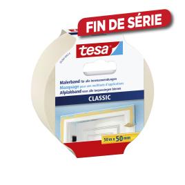 Ruban de masquage classic TESA - 50 mm