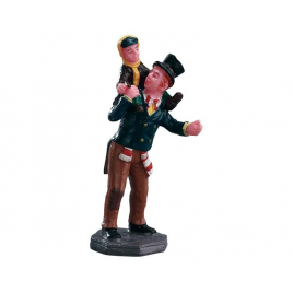 Figurine bob cratchit et tiny tim LEMAX