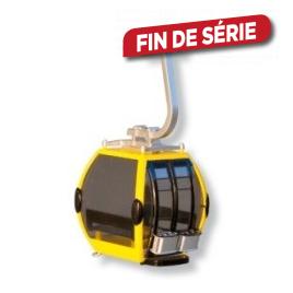 Cabine téléphérique jaune et noir JÄGERNDORFER