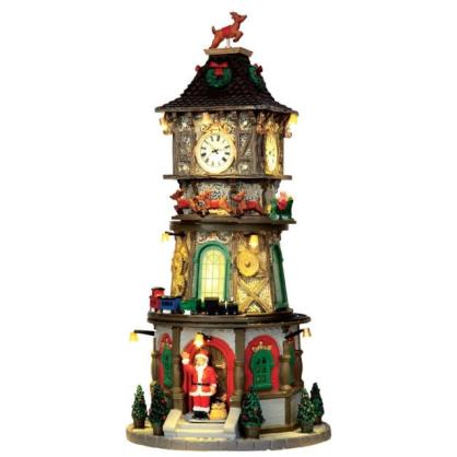 Grande tour horloge lemax - Mr bricolage tours ...