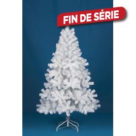 Sapin de Noël artificiel Alaska blanc 180 cm