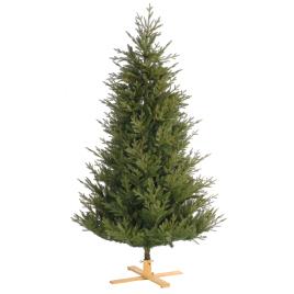Sapin de Noël artificiel Poly Arkansas vert 183 cm