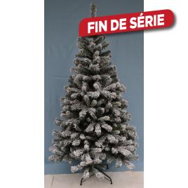 Sapin de Noël artificiel Snowflake enneigé 180 cm
