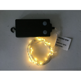Guirlande de Noël extérieure avec ampoules LED