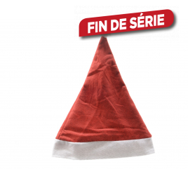 Bonnet de Père Noël DECORIS