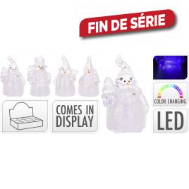 Figurine de Noël lumineuse LED
