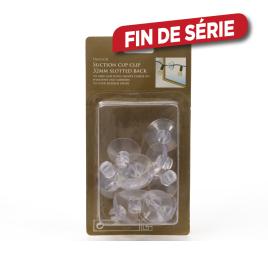 Fixation ventouse plastique (12 pièces) LUMINEO
