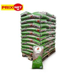 Palette 72 sacs Pellet feuillus 14 kg B.PELLET (livraison à domicile)