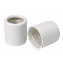 Entrée gris en PVC - 16 mm