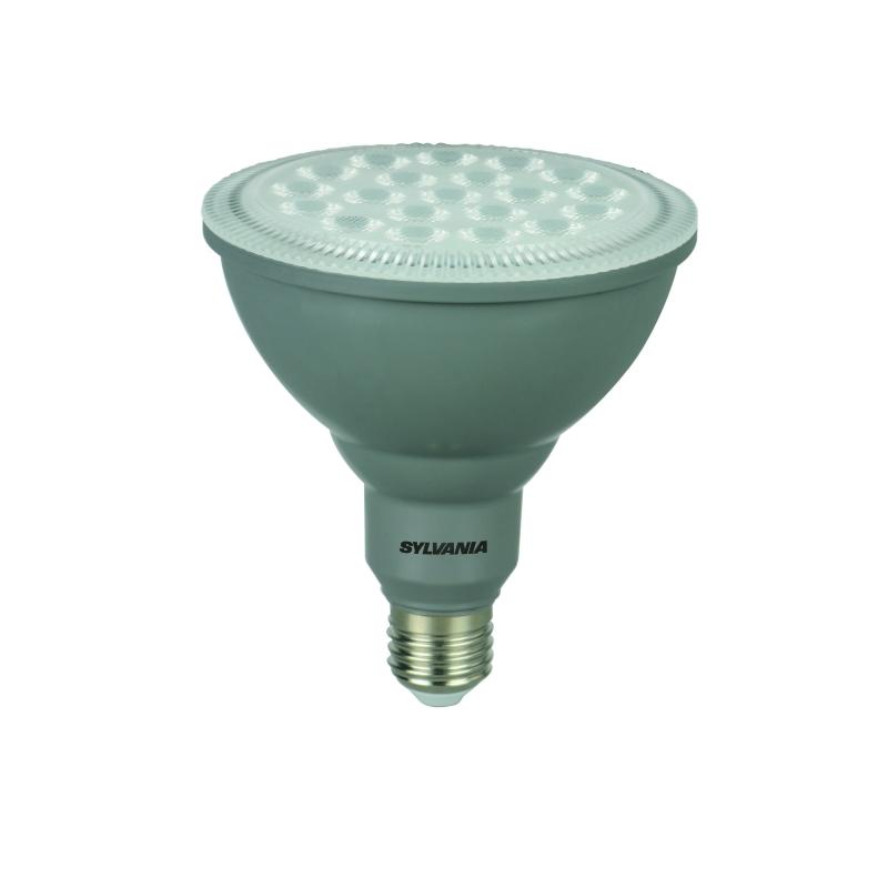 ampoule spot gris led e27 16 w 1400 lm blanc chaud dimmable sylvania. Black Bedroom Furniture Sets. Home Design Ideas