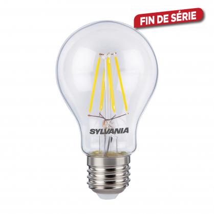 Ampoule classique claire Rétro LED E27 6 W 806 lm blanc chaud dimmable SYLVANIA