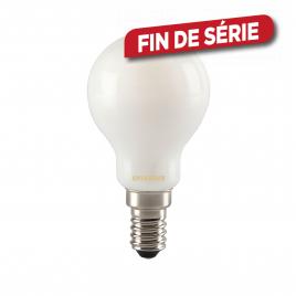 Ampoule classique satinée LED E14 4 W 400 lm blanc chaud SYLVANIA