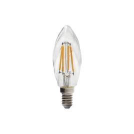 Ampoule flamme torsadée retro LED E14 2,5 W 250 lm blanc chaud SYLVANIA