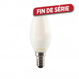 Ampoule flamme satinée LED 4 W 400 lm blanc chaud SYLVANIA