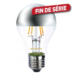 Ampoule classic retro argentée LED E27 4 W 450 lm blanc chaud SYLVANIA