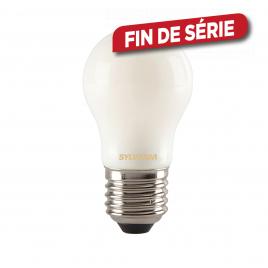 Ampoule classique satinée LED E27 4 W 400 lm blanc chaud SYLVANIA