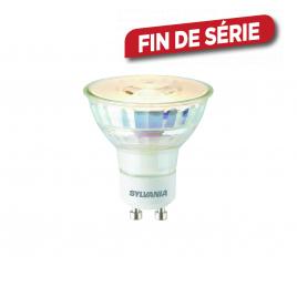 Ampoule transparente LED GU10 5,3 W 450 lm blanc froid SYLVANIA