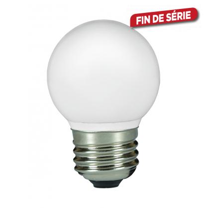 Ampoule boule Color LED E27 0,5 W 80 lm SYLVANIA