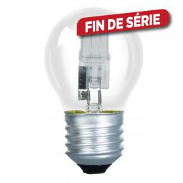 Ampoule boule halogène blanc chaud SYLVANIA - E27 - 625 lm