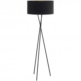 Lampadaire d'intérieur Fondachelli E27 60 W EGLO - Noir