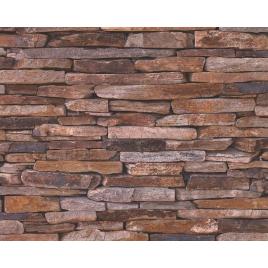Intissé pour pièce humide scope - Mur de pierres naturelles