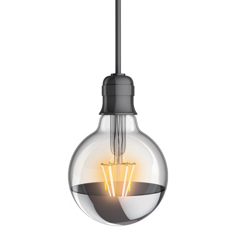 ampoule g95 vintage led e27 8 w 850 lm blanc chaud xanlite. Black Bedroom Furniture Sets. Home Design Ideas