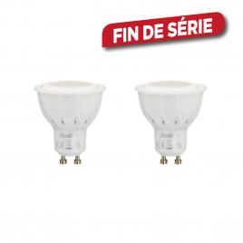 Ampoule spot LED GU10 5,6 W 2 pièces XANLITE