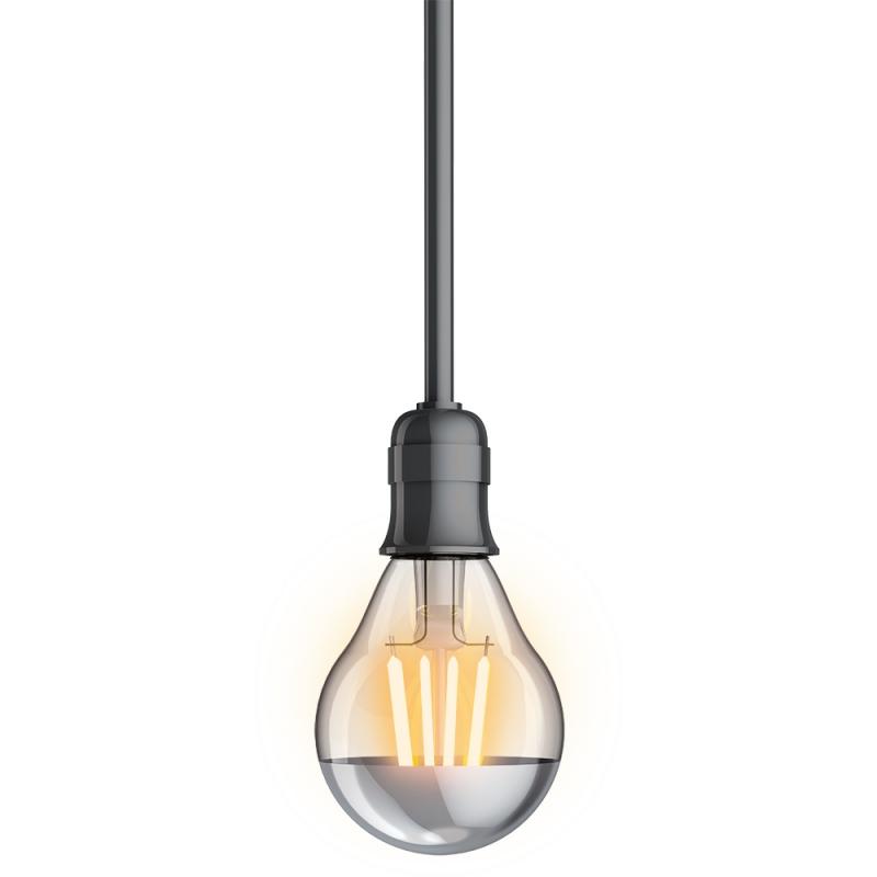 ampoule p45 vintage led e14 3 8 w 350 lm blanc chaud xanlite. Black Bedroom Furniture Sets. Home Design Ideas