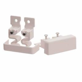 Embout pour moulure DLP blanc 20 x 12,5 mm