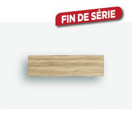Bande de chant pour escalier ouvert plaqué en bois Raw Oak 2 pièces