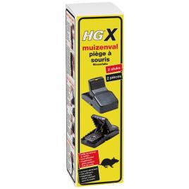 HGX Piège à souris 2 pièces HG