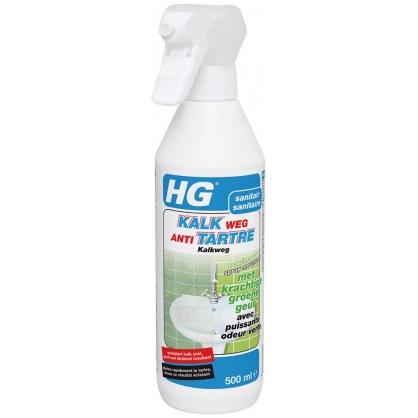 Spray moussant anti-tartre avec puissante odeur verte 0,5 L HG