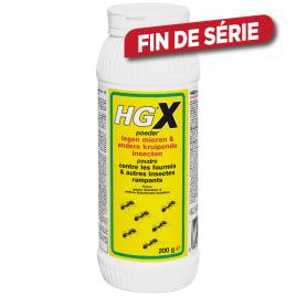 HGX Poudre contre les fourmis et autres insectes rampants 0,2 kg HG