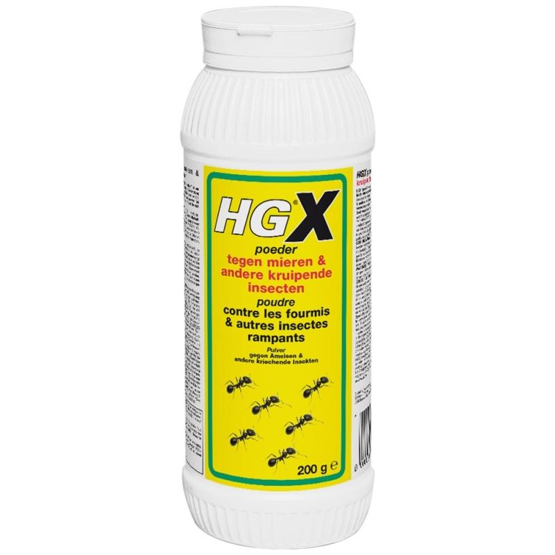 Hgx poudre contre les fourmis et autres insectes rampants 0 2 kg hg - Produit contre les fourmis ...