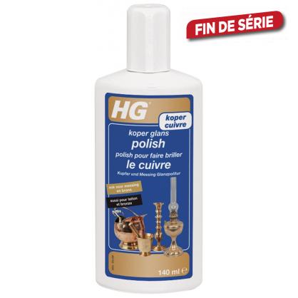 Polish pour faire briller le cuivre 0,14 L HG