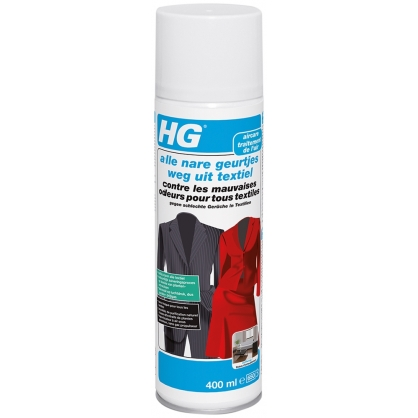Contre les mauvaises odeurs pour tous textiles HG