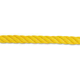 Corde câblé en polypropylène fibrillé couleur au mètre CHAPUIS - 8 mm