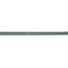 Câble non gainé qualité levage acier dur galvanisé RR 180Kg/mm² au mètre CHAPUIS - 1,5 mm