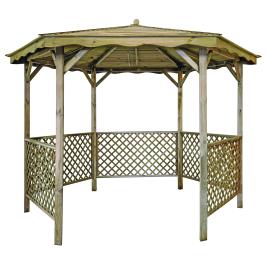 Kiosque en bois de pin autoclave « Kiosk » SOLID SUPERIA